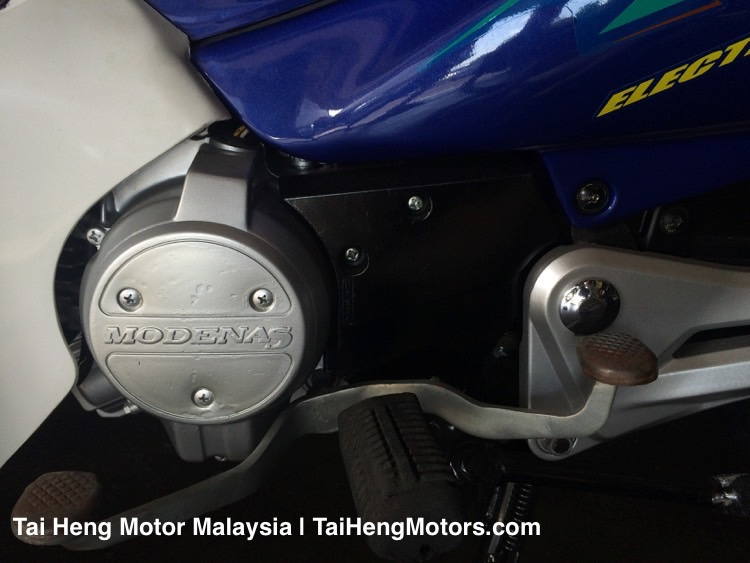 Used Modenas Motorcycle - Kriss (2001) - Engine