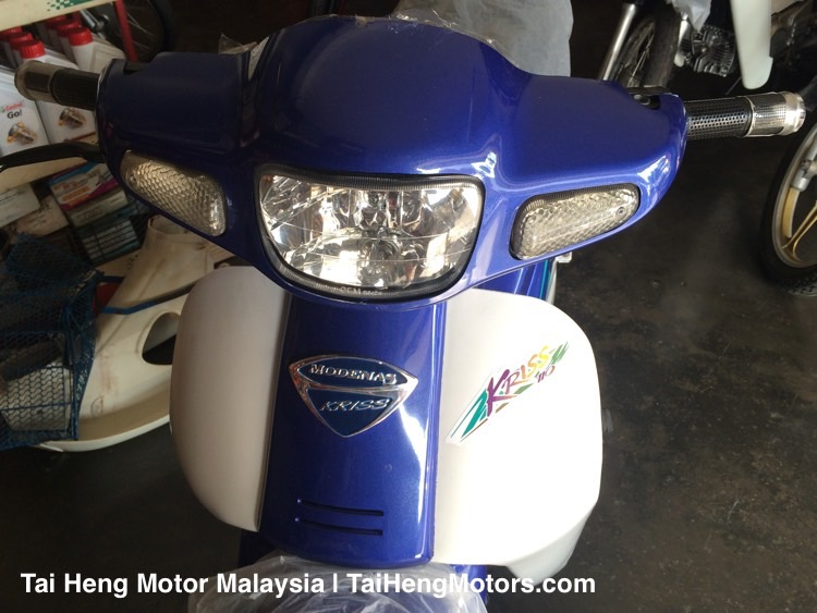 Used Modenas Motorcycle - Kriss (2001) - Head